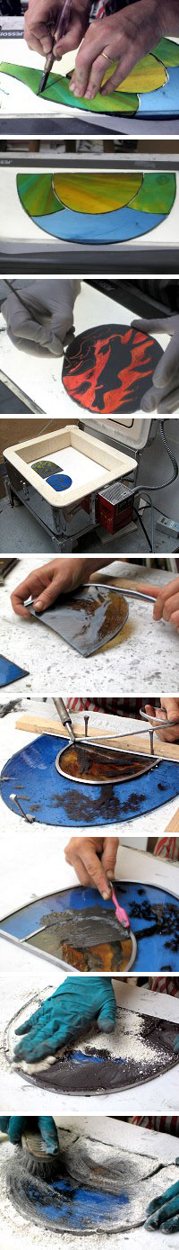 Stained Glass Preparation